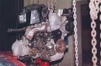 Demontáž motoru z vozu